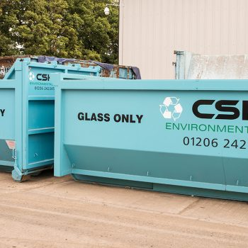 commercial glass skip hire